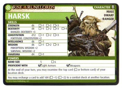 Free Printable Character Sheets for Pathfinder Adventure Card Game